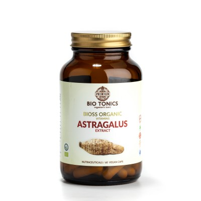 ASTRAGALUS EXTRACT 400mg / 60 VEGAN CAPS