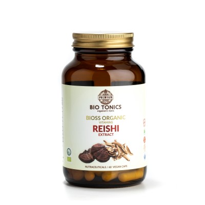 REISHI EXTRACT 350mg / 60 VEGAN CAPS