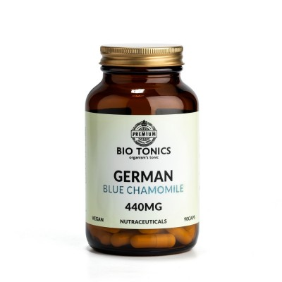 GERMAN BLUE CHAMOMILE EXTRACT 440mg / 90 VEGAN CAPS