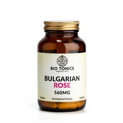 BULGARIAN ROSE EXTRACT 560mg / 90 VEGAN CAPS