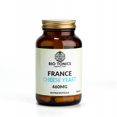 FRANCE CHEESE YEAST 460mg / 90 VEGAN CAPS NATURAL B COMPLEX