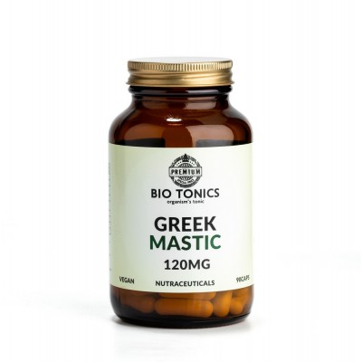 GREEK MASTIC EXTRACT 120mg / 90 VEGAN CAPS