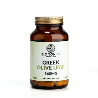 GREEK OLIVE LEAF EXTRACT 560mg / 90 VEGAN CAPS