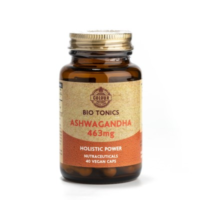 ASHWAGANDHA EXTRACT 463mg / 40 VEGAN CAPS WELLNESS.COOL.CALM