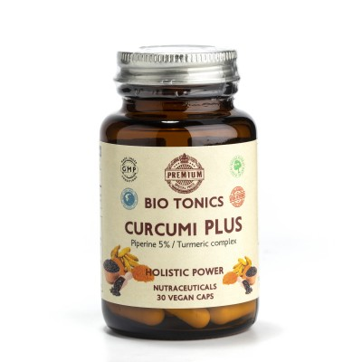 CURCUMI plus BLACK PIPER EXTRACTS  300mg / 30 VEGAN CAPS. ASTEOARTHRITIS.NOPAIN.CURCUMINOIDS