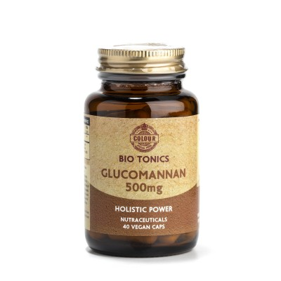 GLUCOMANNAN EXTRACT 500mg / 40 VEGAN CAPS WEIGHT LOSS