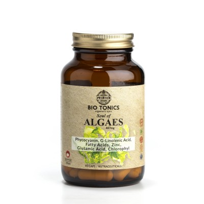 ALGAES PHYCOCYANINS EXTRACTS 487mg / 90 VEGAN CAPS / SEA DETOX