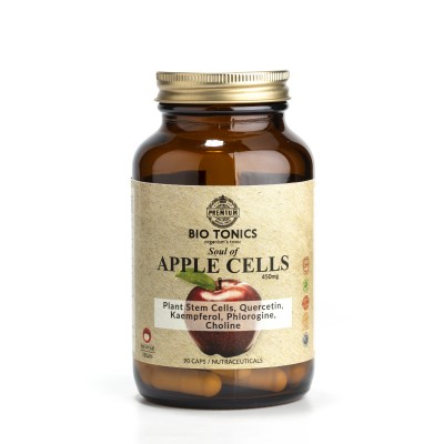 APPLE STEM CELLS EXTRACTS 450mg / 90 VEGAN CAPS TELOMERES POSSITIVE
