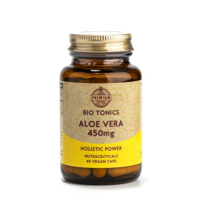 ALOE VERA EXTRACT  450mg / 40 VEGAN CAPS - SUPER HOLISTIC PRODUCT