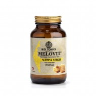 MELOVIT SLEEP & STRESS MELATONINE/VALERIAN 285gr /28 DOSES GREEK THYME HONEY 35% POLLEN